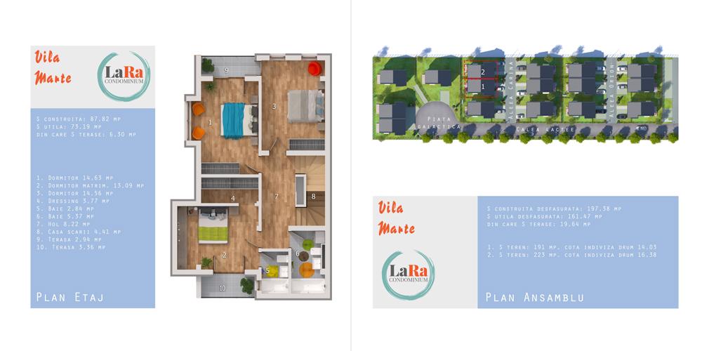 Vila Marte Etaj LaRa Condominium