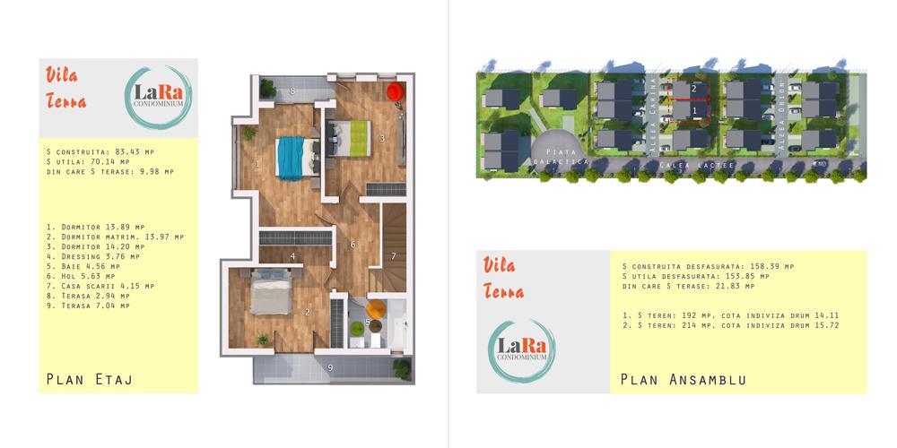 Vila Terra Etaj LaRa Condominium