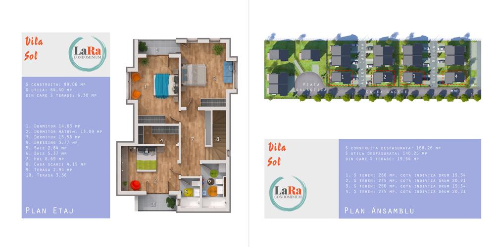 Vila Sol Etaj LaRa Condominium