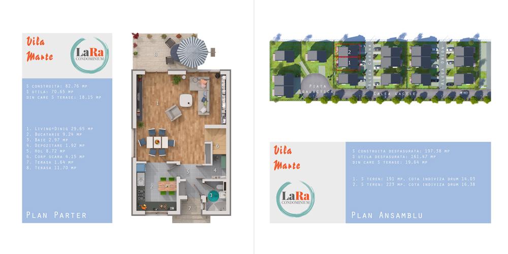 Vila Marte Parter LaRa Condominium