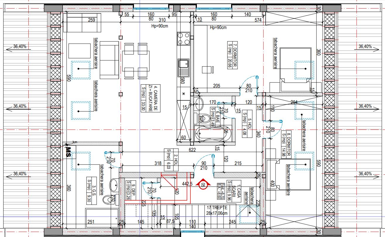Faza 0 Plan Mansarda LaRa Condominium