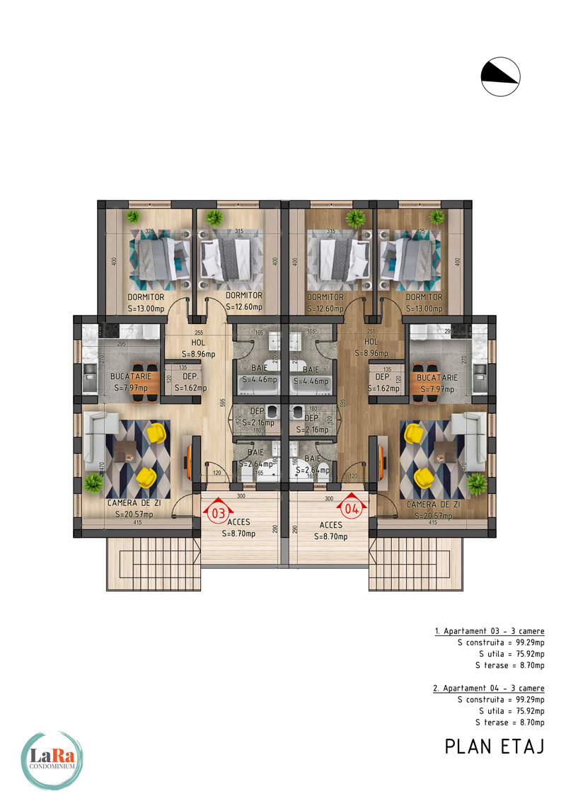 Faza-5-Plan-Etaj-LaRa-Condominium