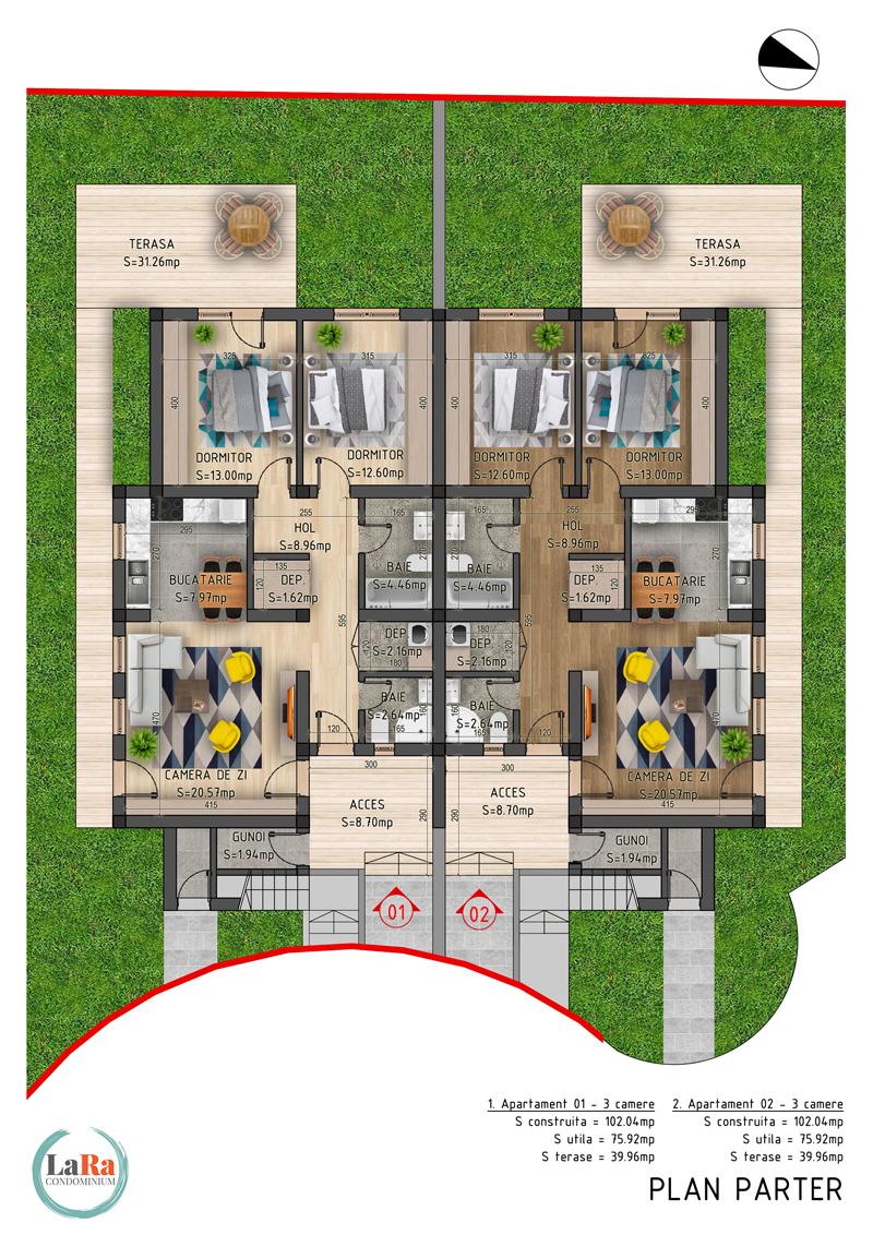 Faza-5-Plan-Parter-LaRa-Condominium